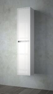 Colonna Arredo Bagno Bari.Arredo Bagno Mobile Colonna Moderno Bianco Ante 2 In Noja Design