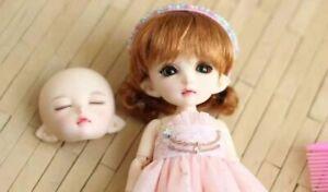 1/8 Bjd Doll Rin Avec Make Up Anime Dollfie Muñeca Recast Minuscule Mignon