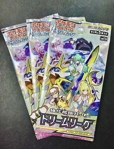 1-Booster-Pack-versiegelt-1st-Edition-Pokemon-Traum-Liga-sm11b-Japanische-Karten