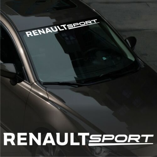 RENAULT  sport WINDSHIELD CAR Premium STICKER vinyl decal #2 Clio RS Espace
