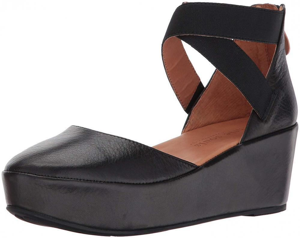 Gentle Souls by Kenneth Cole NYSSA PLATFORM WEDGE WITH ELASTIC ANKLE STRAPS chaussures