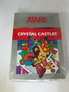 Details about NEW SEALED WITH CRUSHED BOX PAL VERSION CRYSTAL CASTLES GAME  FOR ATARI 2600 N27