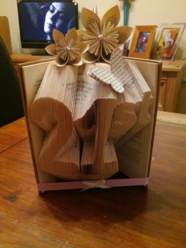 birthdays keepsake gift Personalised folded book art Gifts for any occasion