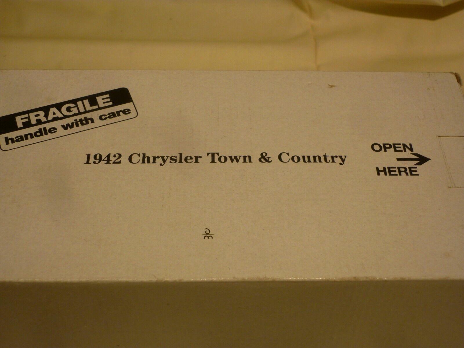 Sin impuestos Un Un Un coche modelo escala DE DANBURY MINT DE UN 1942 Chrysler Town & Country, En Caja  orden ahora disfrutar de gran descuento