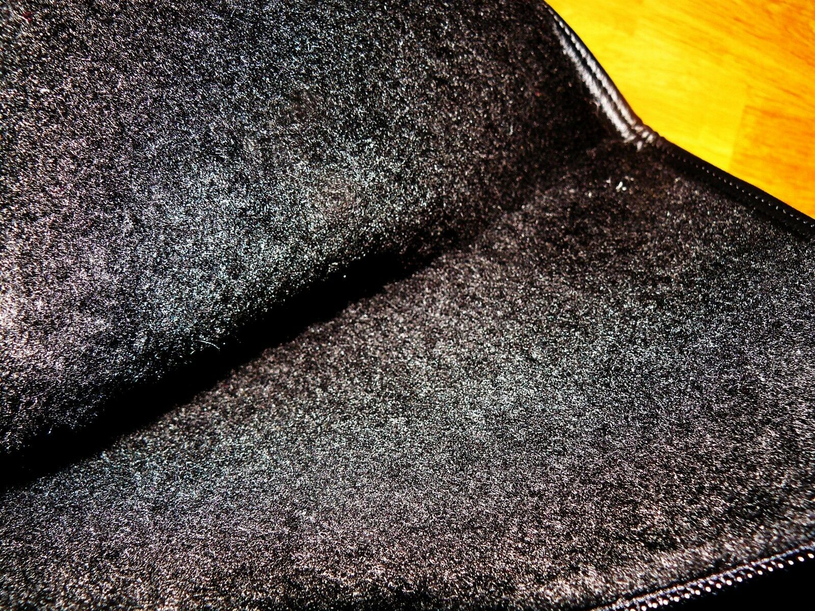 Luxus gefütterte 38 Gummistiefel  Winterstiefel Gr. 38 gefütterte Schwarz Italien NEU 034e61