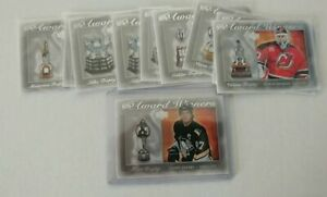 2007-08-Upper-Deck-UD-Series-1-NHL-039-s-Award-Winners-AQ-UPick-List-Lot-NHL-07-08