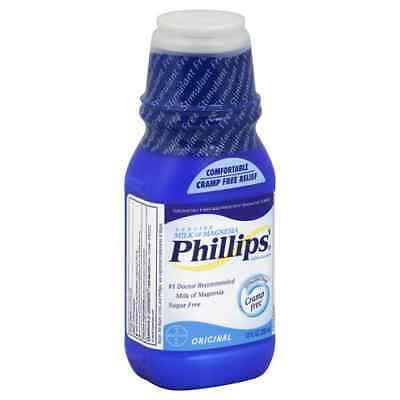 Phillip Milk of Magnesia Original 12 oz constipation