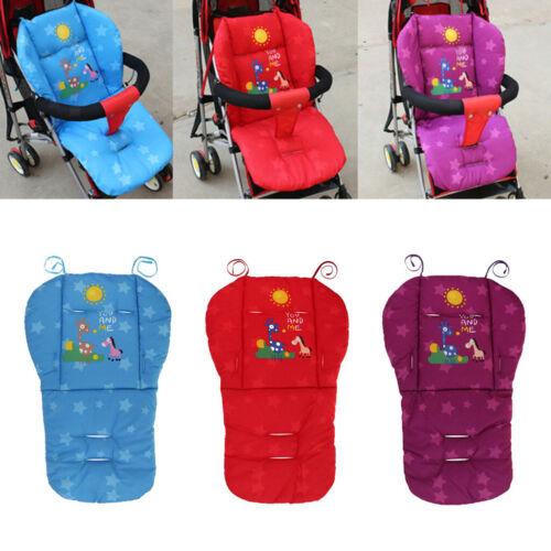 Chaise Haute Couverture Bébé Poussette Liner Voiture Siège Pad Coussin Protecteur Violet