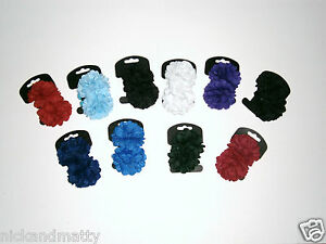 GIRLS-HAIR-BOBBLES-PONIO-SCHOOL-COLOURS-YELLOW-NEW-COLOR-ADDED