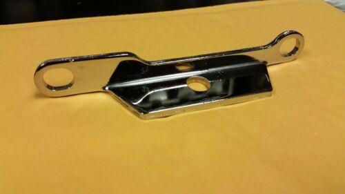 Dual-Carb Chrome Bracket NEW Edelbrock QWIK SILVER Harley N.O.S