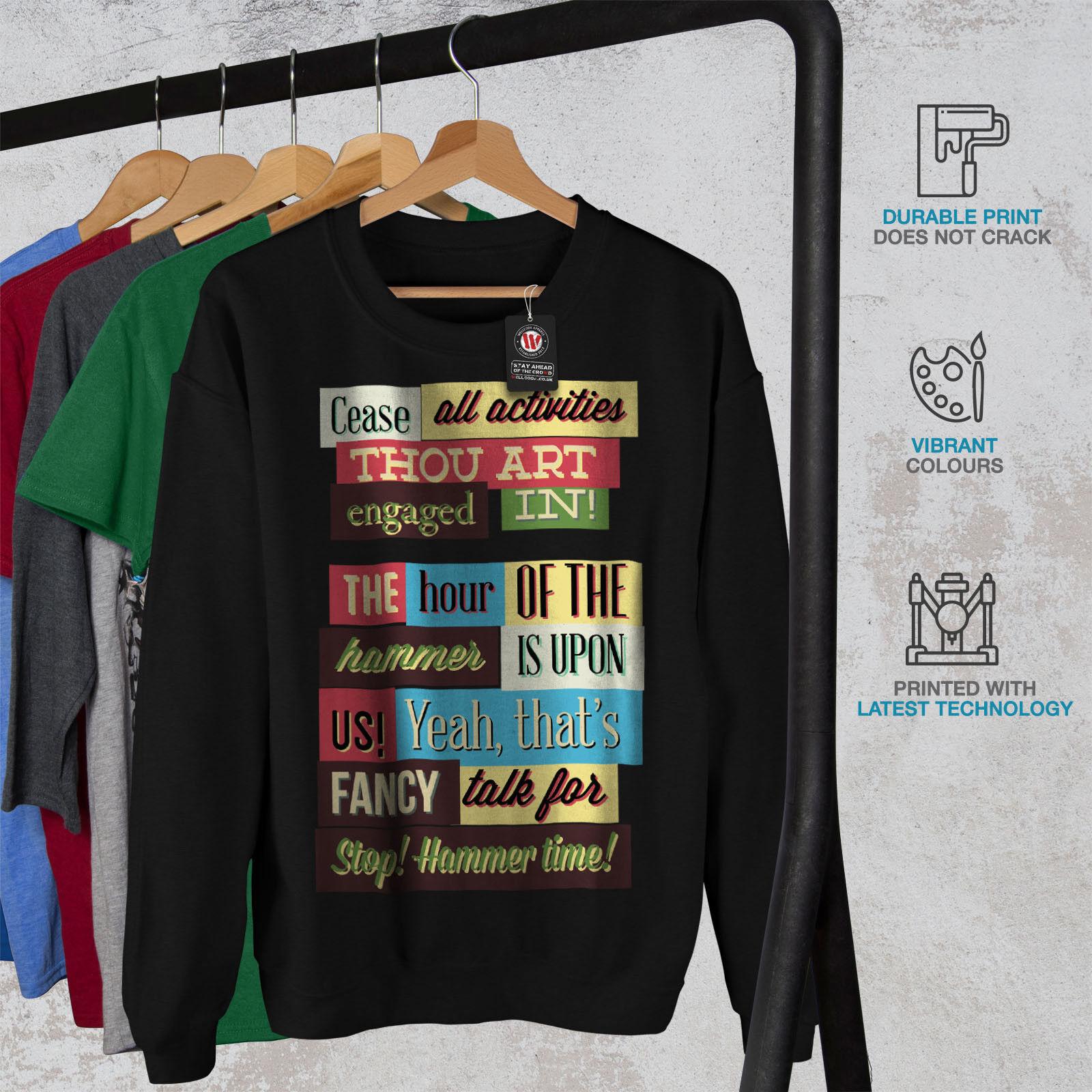 Talk Talk Unisex Sweatshirt Jumper All Colours