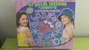 GIRLS-CRYSTAL-TATTOOS-amp-JEWELRY-BNIB
