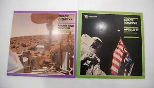 Lot-of-2-Space-Archive-Volume-2-amp-3-Apollo-17-Mars-amp-Beyond-Laserdisc-LD