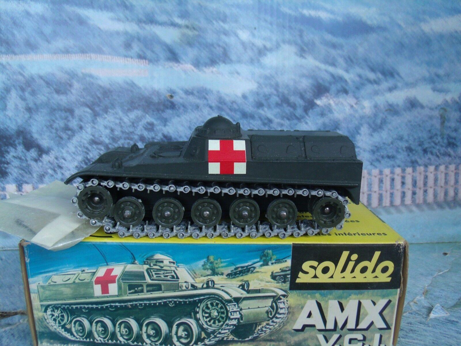 1 50 Solido (Francia) Militar Amx v.c.i Ambulancia   227