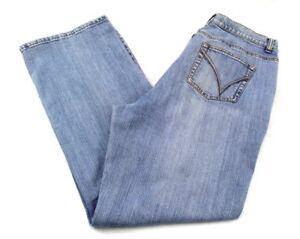 2f71accf710 Venezia Jeans Womens size 16 Average Vintage Wash Stretch Boot Cut ...