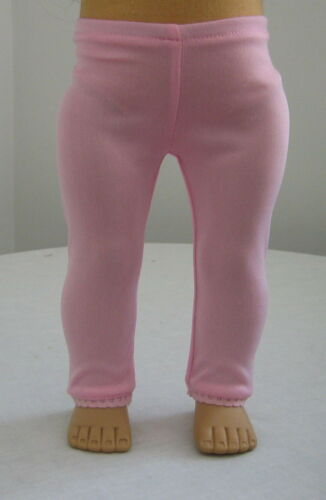 CUTE PINK LEGGINGS  FIT AMERICAN GIRL DOLL CLOTHES