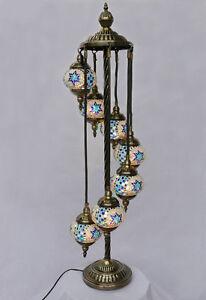 stehlampe lampe orientalisch istanbul mosaiklampe orient 1001 nacht gl01bl a ebay. Black Bedroom Furniture Sets. Home Design Ideas