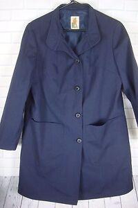 Mac Out Portcoat 'Gloucester Sz Kvinder Mighty Blue Navy Button 8 Up O Vintage Bfgwq