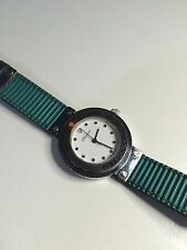 Used Ellesse Magic Touch Wristwatch Retro Stainless Steel Watch 03-0002-007
