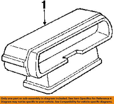 Chevrolet GM OEM 15-16 Suburban-High Mount 3rd Third Brake Light-Lamp 22783104