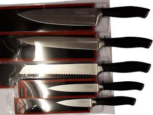 Culinario-Messerset-Edelstahl-mit-schwarzem-Griff
