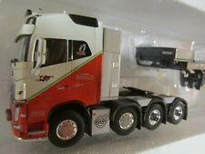 WSI 03-1137 Volvo FH4 Globetrotter XL 6x2 Tractor Unit Plain White 1:50 Scale