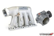 SKUNK2 Intake Manifold Pro Silver+Throttle Body 70mm 02-06 Acura RSX K20A2/K20Z1