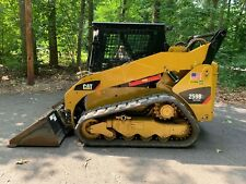 2013 Caterpillar 259b3 Track Skid Steer Only 103 Hours Cab Heat Ac2 Speed