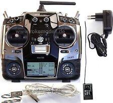Graupner 33124.12 MX 20 mit GR-12L,Fernlenkset HoTT, 2,4GHz,Updatekabel+SD-Karte