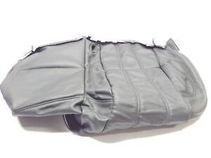Nuevo-Genuino-Range-Rover-L405-2013-gt-Trasero-60-Cuero-Negro-Cojin-Cubierta-de-asiento