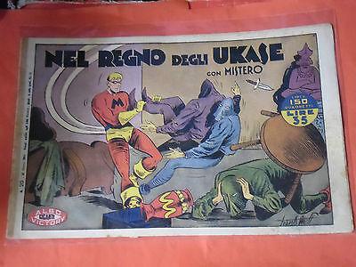 MISTERO ALBO GIGANTE RARA SERIE  N° 20  - ORIGINALE ALBI VICTORY 1947 -no RAGAR
