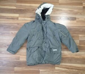 N-3B Snorkel Parka Extreme Cold Weather ECW - MEDIUM - Genuine US ...