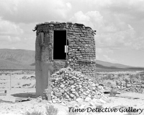 New Mexico Old Stone Structure near Hatch 1939 Historic Photo Print