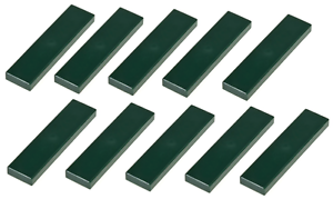 Lego 10x Dark Green Tile 1x4 NEW!!! 2431