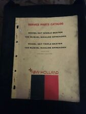 New Holland Model 327 Manure Spreader Service Parts Catalog Issue 5 70