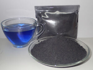 Details about 100% Thai Pure Natural Dried Butterfly Pea-Powder-Blue  Flowers Tea-Food Coloring