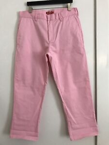 5d5f704343fa Image is loading Supreme-Pink-Work-Pants-SS15-Sz-36