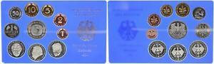 BRD Kurssatz Einzelplatte 1999 G 1Pf. bis 5 DM Polierte Platte 55674