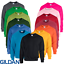 Gildan-LADIES-MEN-039-S-SWEATSHIRT-PULLOVER-SWEAT-CREW-NECK-NEON-S-5XL-PLUS-SIZE-NEW miniatuur 1