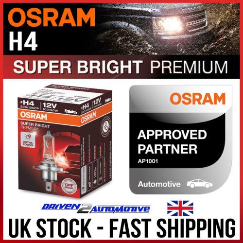 R13 1x H4 OSRAM OFFROAD Premium Ampoule 12 V 100//90W BMW G G 650 GS Sertao 07.10