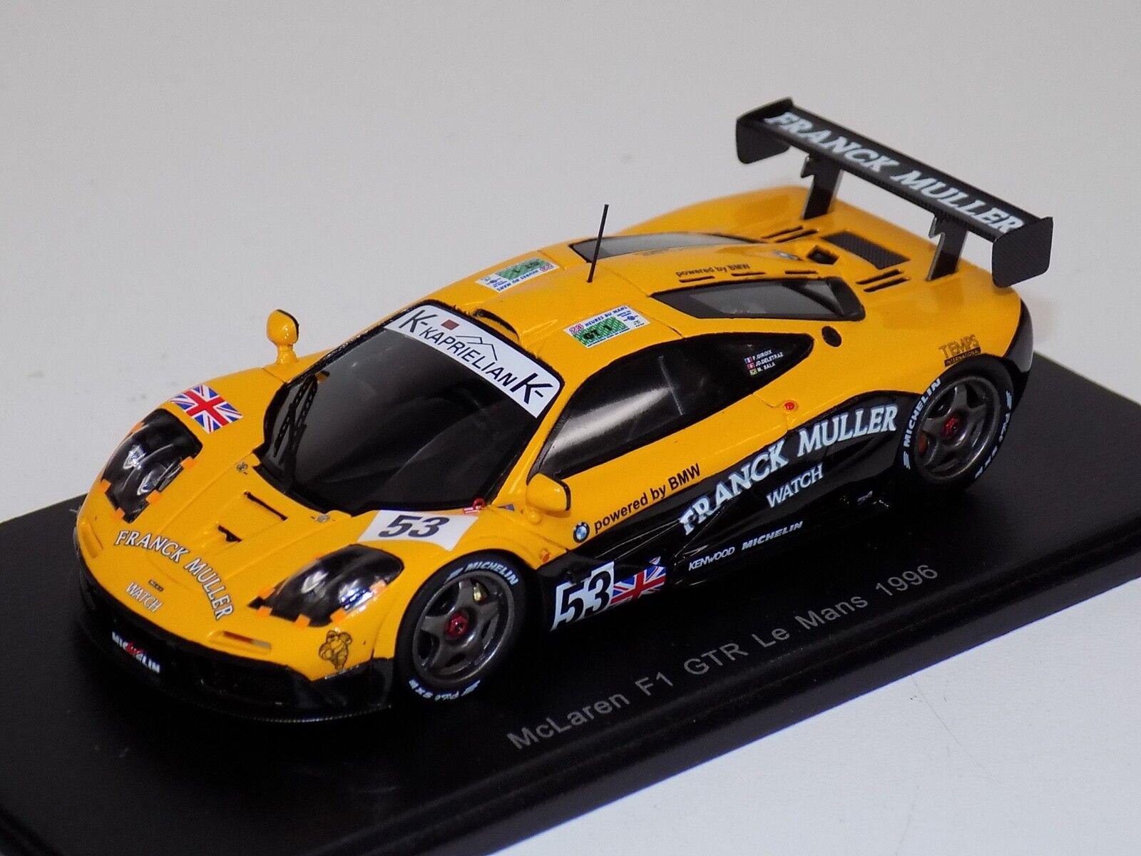 1 43 Spark McLaren F1 GTR Coche horas de LeMans S4732