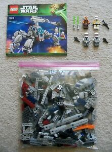 LEGO-Star-Wars-Clone-Wars-Rare-75013-Umbaran-MHC-Complete-w-Instructions