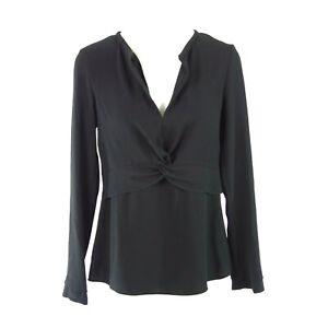 Marc-Cain-Collections-Damen-Shirt-Bluse-Tunika-Groesse-N1-34-XS-Schwarz-Np-199-Neu