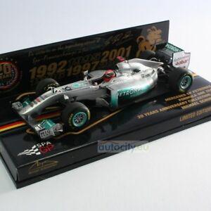 Minichamps Collection Mercedes 20 ans anniversaire du GP Petronas Michae 413110177