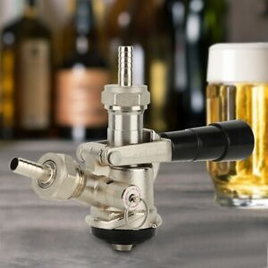 Beer-Keg-Coupler-Dispenser-Wine-Making-D-Type-with-Safety-Pressure-Relief-Valve