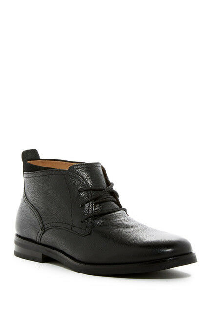 Brand New Cole Haan Men's Ogden STCH Chukka II Black Tumble Boots