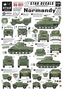 Star-Decals-1-35-British-Armour-Normandy-White-SC-Humber-SC-Sherman-35921