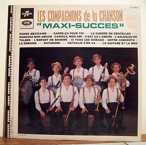 33T-COMPANIONS-OF-THE-CHANSON-Vinyl-Record-LP-12-034-MAXI-SUCCESS-COLUMBIA-40395