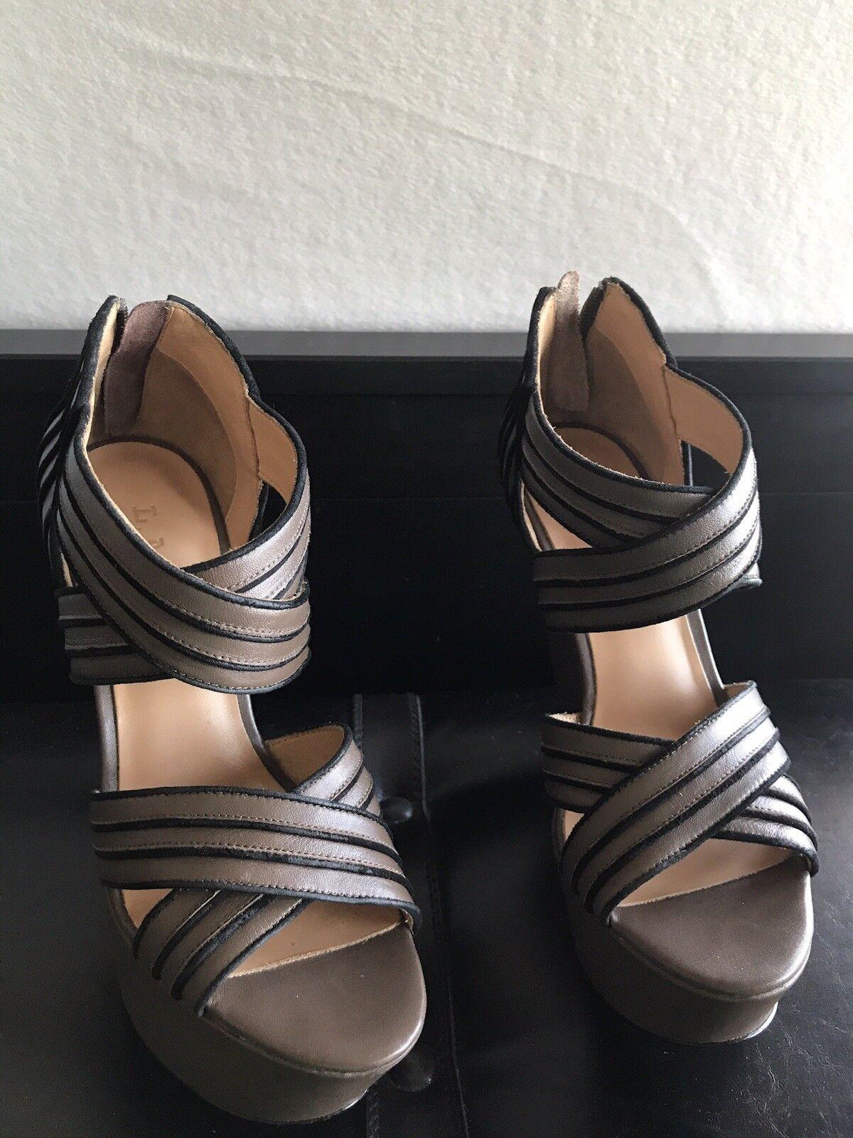 alta qualità generale Lamb Bernadette Wedge Wedge Wedge Sandals Sz 7.5  articoli promozionali