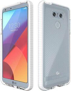 Tech21-White-Clear-EVO-Check-Anti-Shock-Case-TPU-Cover-for-LG-G6